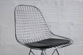 chrome wire chair by modernica u2013 the good mod