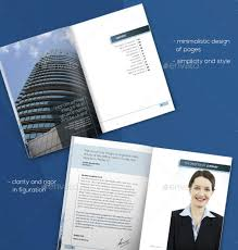annual report brochure indesign annual report brochure template
