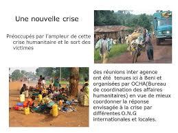 bureau de coordination des affaires humanitaires la guerre qui afflige la rdc depuis 1998 avec une série de