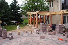 Amazing Backyard Ideas With Pavers Paver Designs For Backyard - Backyard paver designs