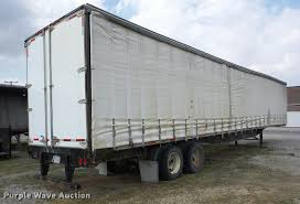 2001 utility ts2cha curtain side dry van trailer item j865