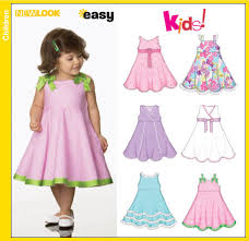 new look 6688 toddler dresses