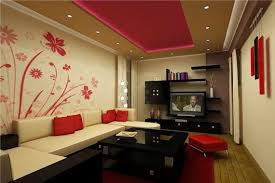 Ceiling Designs For Small Living Room Small Living Room Design With Amazing Ceiling And Wall Paper