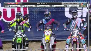 pro motocross live budds creek 450 moto 2 lucas oil pro motocross 2016 youtube