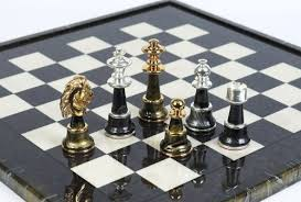 luxury chess set bello games collezioni mancini luxury chess set 24k gold silver