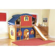 ikea loft bed with slide buy castle tent twin loft bed slide