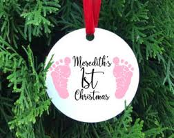 new baby ornament personalized baby ornament new