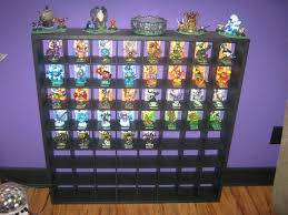 skylander bedroom my son s dream shelf for his skylanders now if only i knew how to