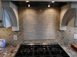 Glass Kitchen Backsplashes Kitchen Stylish Glass Subway Tile Kitchen Backsplash All Home