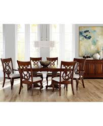 Cappuccino Dining Room Furniture Macys Dining Room Table Set Furniture Collection Cappuccino Sets