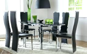 Glass Dining Tables And 6 Chairs Dining Table Glass Top 6 Chairs 6 Seat Dining Table Dining Table