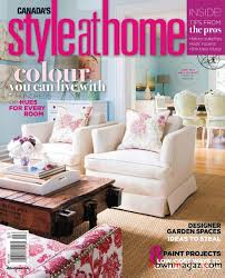 Home Design Magazines Canada Style At Home Magazine May 2010 Download Pdf Magazines