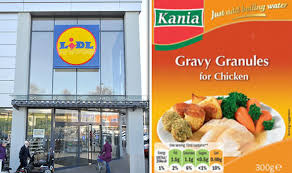 radio cuisine lidl lidl gravy food standards agency issues recall for granules bought