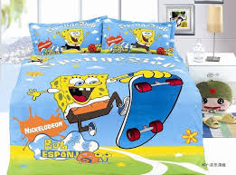 Spongebob Bedding Sets Spongebob Printed Bedding Sets Single Size Bedspread