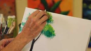 how to paint a tree using acrylic paint howcast the best how