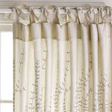 Curtains With Tabs Tie Top Curtains Curtains Ideas