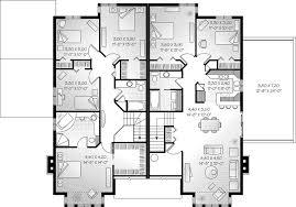 floor plans for multi family homes part 35 t 417 triplex plans