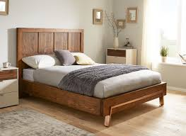 wooden bed frames king size mattress kitchen cabinet sizes chaise