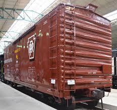 box car pennsylvania railroad boxcar c 1889 94 railroad museum of