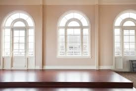excellent old bevelled glass arched windows with arts decor