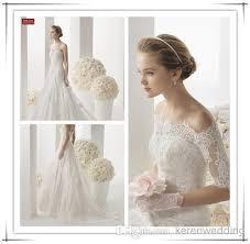 discount lk detachable long sleeve lace fishtail wedding dresses