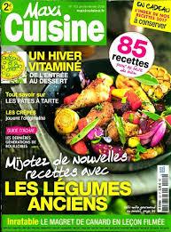 recettes maxi cuisine achat magazine maxi cuisine n 122 en numérique
