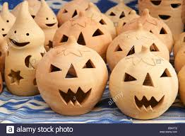 Halloween Pumpkin Crafts Halloween Pumpkins Crafts In Clay Marratxi Balearic Islands