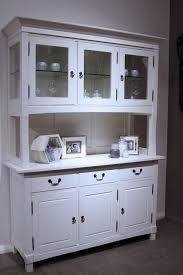 White Kitchen Hutch Cabinet by Symphony White Buffet And Hutch