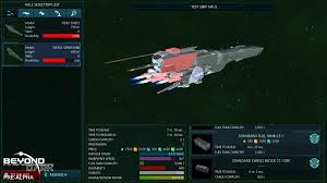 july update ship customisation u0026 load testing beyond dark