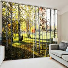 Forest Home Decor by Popular 3d Curtains Forest Buy Cheap 3d Curtains Forest Lots From