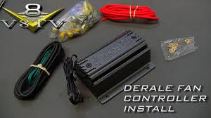 derale fan and pwm controller install video 1964 ford galaxie 500