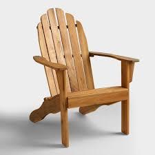 Adarondak Chair Natural Adirondack Chair World Market