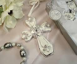 baptism ornament favors decorative cross ornament favors