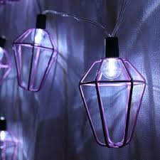 light and battery store aliexpress com buy pink shaped iron 10 led string light