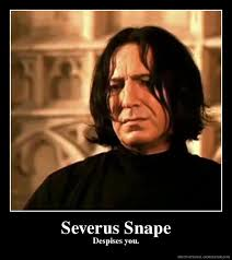 Snape Meme - lessons from the cave prologue harry potter severus snape
