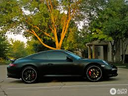 porsche cayenne matte black new porsche 911 carrera s shows off its curves in matte black