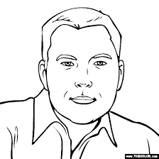 Famous People Online Coloring Pages Page 3 Jackie Robinson Coloring Page