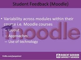 improving student expectations of learning using course templates