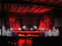 christmas ridges church stage design ideas