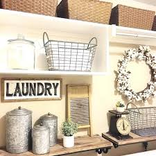 Laundry Room Wall Decor Ideas Laundry Wall Decor Antique Metal Laundry Room Decor Ideas Laundry