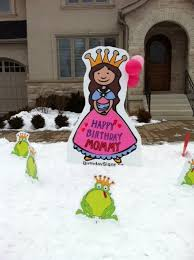 birthday lawn signs guelph rents lawn displays for all occasions