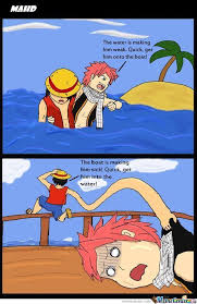 Fairy Tail Memes - share and tag a friend who would love this onepiece onepiecefan