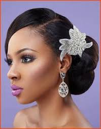 pin up hairstyles for black women with long hair 43 black wedding hairstyles for black women loose waves black