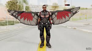 captain america civil war falcon for gta san andreas