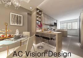hdb bto 4 room open kitchen concept yishun norma budden