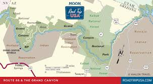 Arizona How Many Miles Did Lewis And Clark Travel images Route 66 detour grand canyon national park road trip usa png