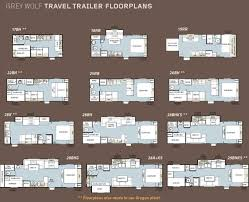 forest river 5th wheel floor plans forest river grey wolf travel trailer floorplans