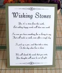 wedding wishing stones wedding sign stones wishing stones unique special occasion or