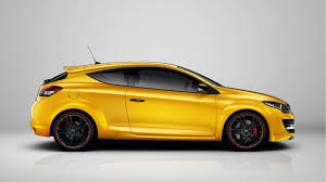 renault yellow megane renaultsport