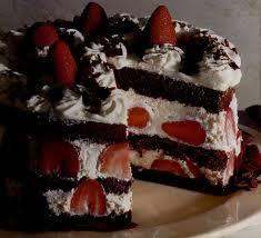 aux fraises cuisine recette la forêt aux fraises